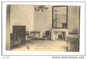 CORSE.-Ajaccio, Chambre do pere de Napeleon Ier 00-10s