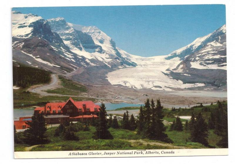 Alberta Canada Icefield Chalet Athabasca Glacier Jasper National Park 4X6