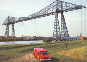 Royal Mail Postcard, The Transporter Bridge, Middlesbrough 40S