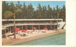 Hotel Biltmore Lido Beach Cabana 1950s Santa Barbara California Schwacher 7487