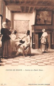 Interior of a Dutch House Pieter De Hooch United Kingdom, Great Britain, Engl...