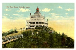 MA - Holyoke. Mt. Tom, Mt. Tom House