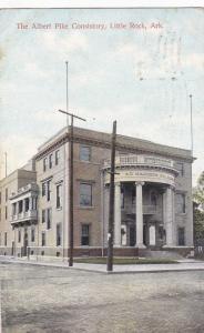 LITTLE ROCK, Arkansas,PU-1909; The Albert Pike Consistory