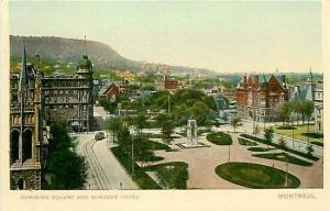 Canada, Quebec, Montreal, Dominion Square, Montreal Import No. 108