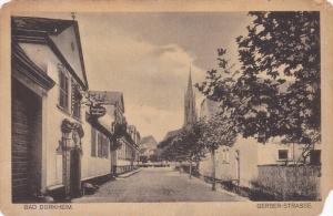 Bad Durheim, Gerber-Strasse, RHineland-Palatinate, Germany, 10-20s