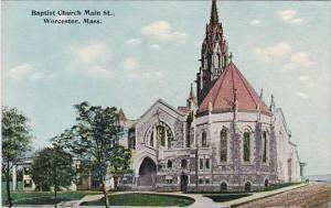 Massachusetts Worcester Main Street Baptist Church