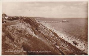 RP; The Pier Beach, from Alum Chine, Bournemouth, Dorset, England, United Kin...