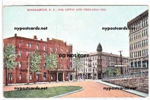 Lewis & Chenango Sts., Binghamton NY