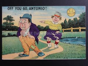 Joe T.  off you go ANTONIO  c1909 par H. B. série