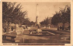 B105967 Switzerland Muelhausen i. Els. Denkmal Statue Monument