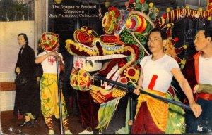 California San Francisco Chinatown Annual Parade Of The Dragon