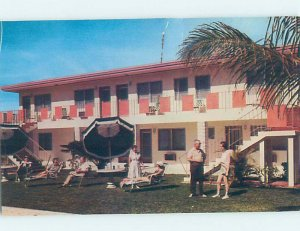 Pre-1980 APT MOTEL Pompano Beach by Hillsboro Inlet & Fort Lauderdale FL AE2667