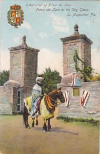 Celebration of Ponce de Leon, ST. AUGUSTINE, Florida, PU-1910