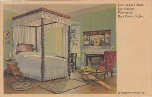 Virginia General Lee's Room Lee Mansion Painting By Ruth Perkins Safford