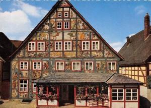 Gasthof Kuenstlerklause, Fassadenmalerei Schwalenberg in Lippe Pension Hotel