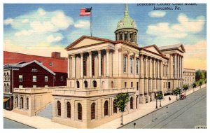 Pennyslvania Lancaster Court House