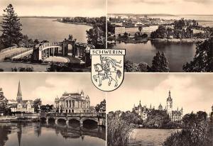 Schweriner See Marstallhalbinsel, Staatstheater und Dom, Paedagogische Schule