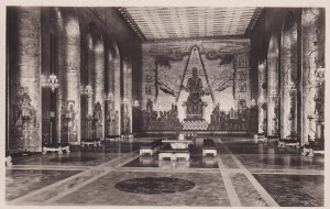 RP; STOCKHOLM, Sweden, 1920-1940s; City Hall, Banquet Room Golden Hall