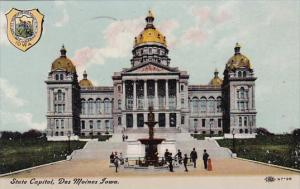 Iowa Des Moines State Capitol 1911