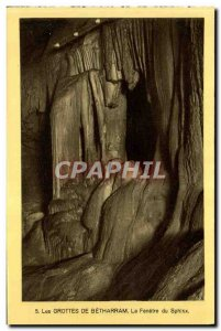 Old Postcard The Betharram Caves Of The Window of the Sphinx