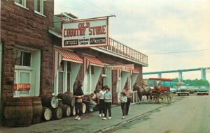 Sault Saint Marie Michigan~Old Country Store~Surrey (No Fringe) 1950s