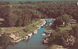 Lock #42 on the beautiful Trent Canal System, north end of Lake Couchiching, ...