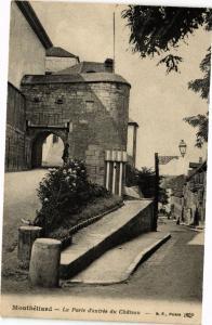 CPA MONTBÉLIARD - La Porte d'entrée du Chateau (183030)