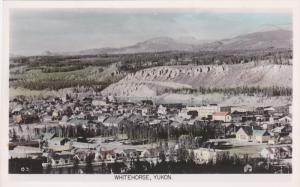 RP: Aerial view , WHITEHORSE , YUkon , Canada , 1930-40s