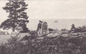 Maine Seal Harbor The Champlain Monument Albertype
