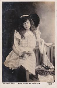 RP, Miss Dorothy Frostick, Actress - Theatre, PU-1906