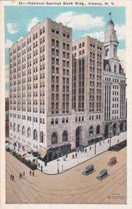 National Savings Bank Building Albany New York 1933