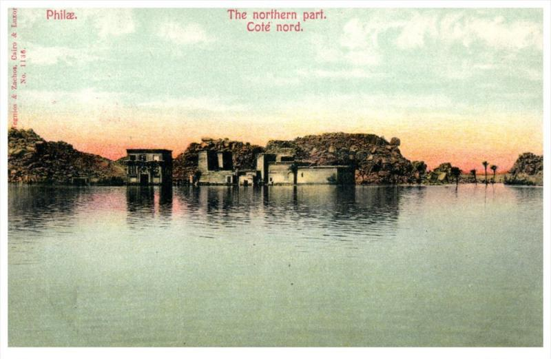 21226 Egypt Philae   The Northern Part Cote Nord