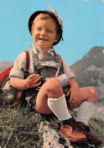 Gruss aus Oesterreich Boy Traditional Costume Austria