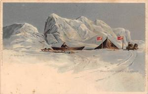 Polar expedition Nansen ,camp 1895 THE FIRST FRAM EXPEDITION Norway