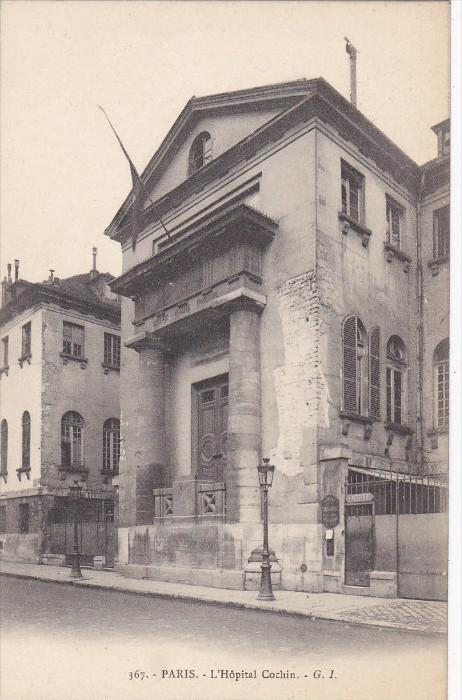 PARIS, France, 1900-1910´s; L'Hopital Cochin