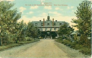 Our Lady of the Consolation Monastery Cumberland, RI Postcard, Public Library