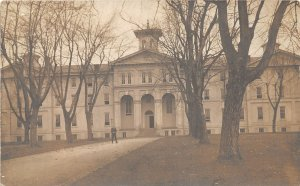 F94/ Upland Pennsylvania RPPC Postcard c1910 Crozer Seminary Building 1