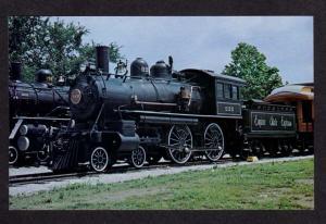 KY New York Central & Hudson Railroad Train Louisville Kentucky Postcard RR