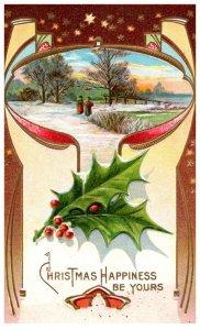 Christmas  , winter scene