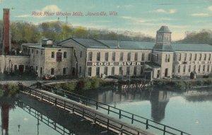 JANESVILLE , Wisconsin, PU-1911; Rock River Woolen Mills