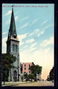 Main Street Northand St Luke's Church,Racine,WI