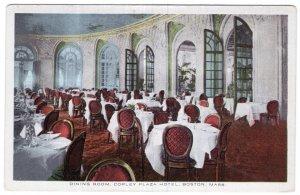 Boston, Mass, Dining Room, Copley Plaza Hotel