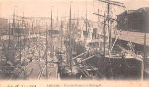 Anvers Belgium, Belgique, Belgie, Belgien Vue des Bassine et Entrepot Anvers ...