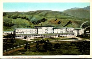 Yellowstone National Park Mammoth Hotel Haynes Photo