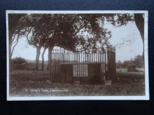 West Sussex Worthing HIGHDOWN HILL Millers's Tomb - Old RP Postcard