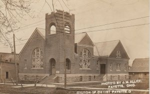 RP: FAYETTE , Ohio , 1910 ; Church of Christ