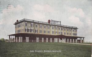 BRADDOCK HEIGHTS , Maryland , PU-1909 ; Hotel Braddock