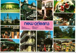 Louisiana New Oorleans Multi View 1988