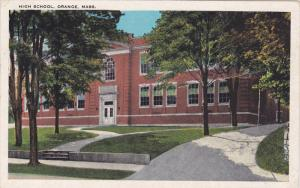 ORANGE, Massachusetts; High School, PU-1931
