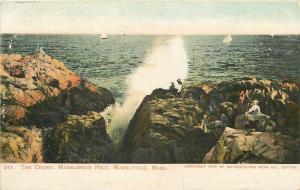 Marblehead Massachusetts~The Churn @ Marblehead Neck~1906 PC